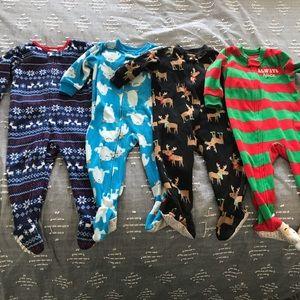 Lot of Christmas Pajamas